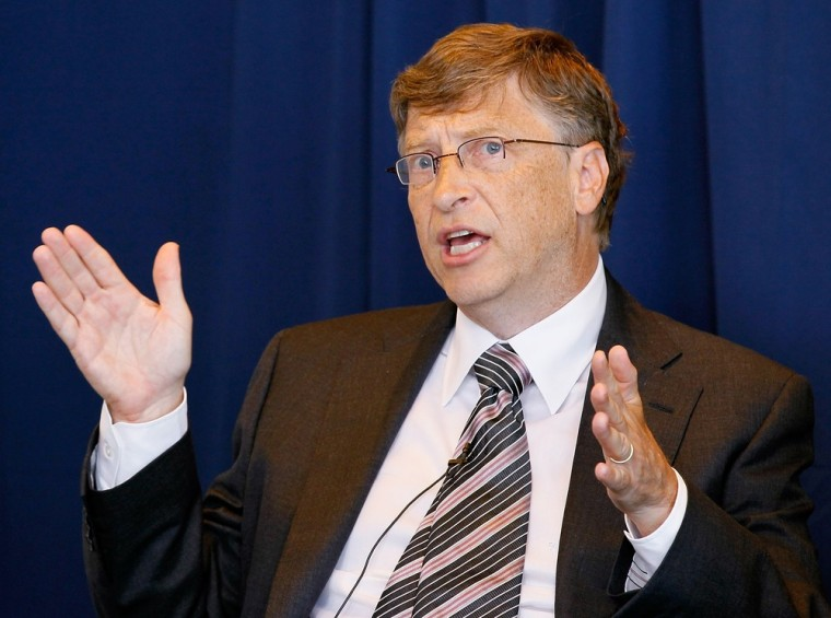 Image: Bill Gates, Major CEO's Hold DC News Conference On U.S. Energy Innovation