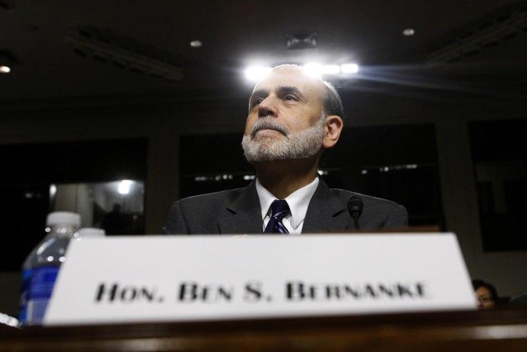 Image: Federal Reserve Board Chairman Bernanke