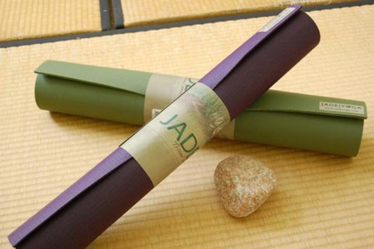 Dean Jerrehian's JadeYoga produces natural-rubber yoga mats.