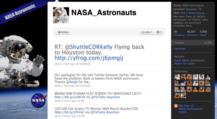 NASA/Twitter