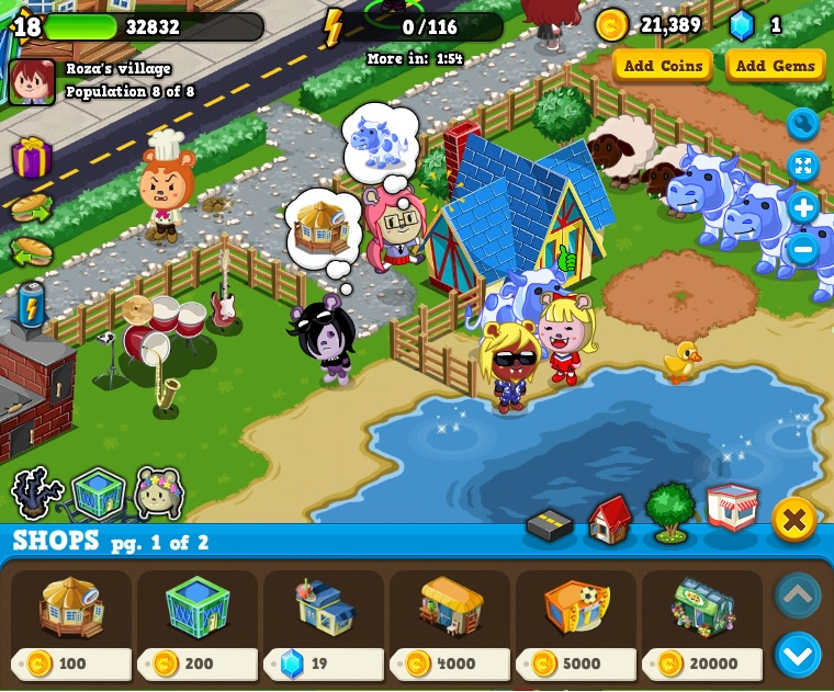 """Playdom has just launched its latest Facebook game """"Fanglies."""" Game makers say that games on social networks have proven that people really do like playing games with each other."""