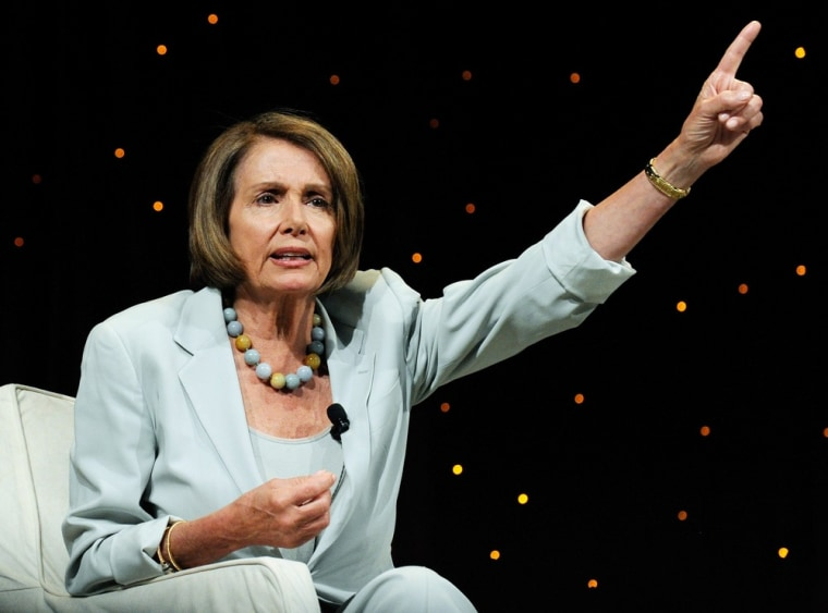 Image: Harry Reid And Nancy Pelosi Address The Netroots Nation Convention
