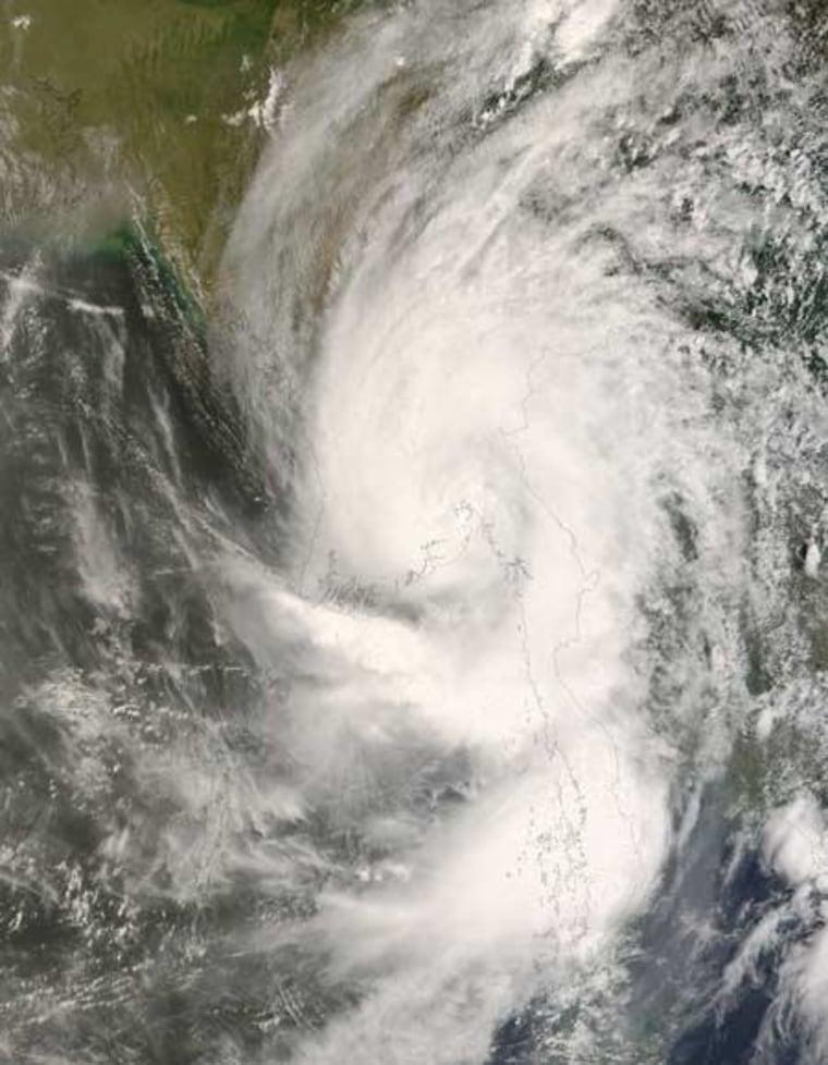 Image: Cyclone Nargis