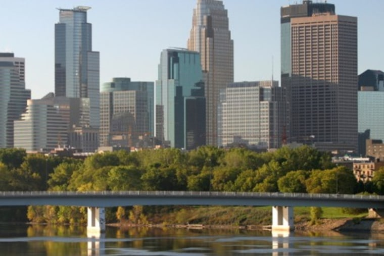 Image: Minneapolis skyline
