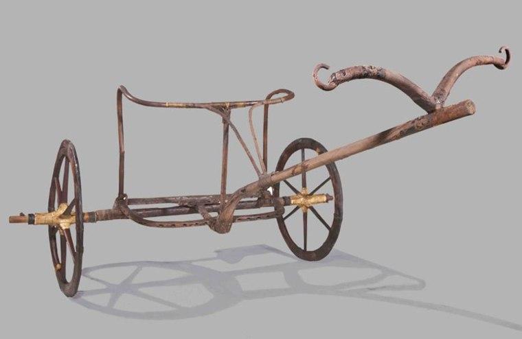 Image: King Tut chariot