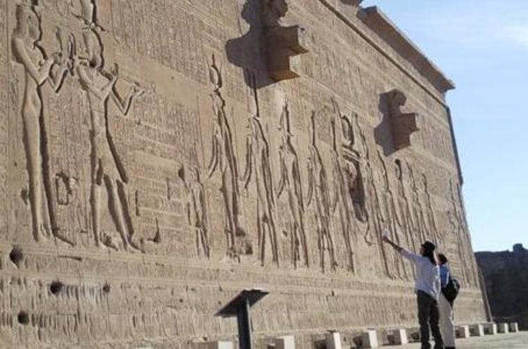 Image: Cleopatra under study