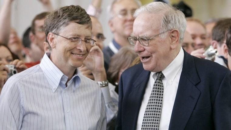 Image: Warren Buffett, Bill Gates