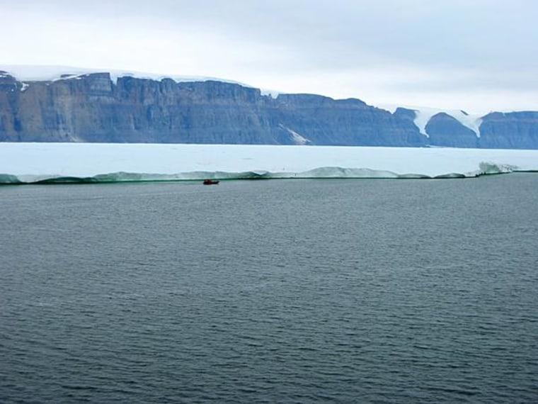 Image: Greenland's Petermann Glacier in 2009