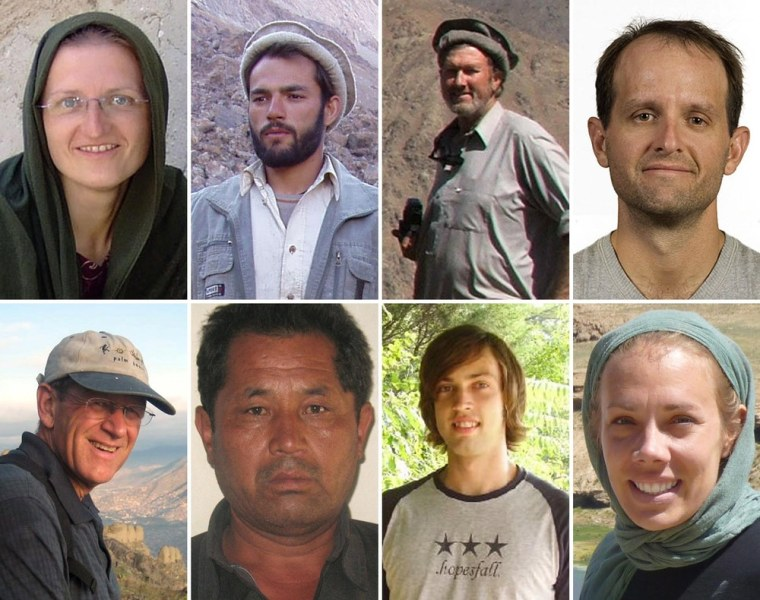 Image: Eight foreign workers of International Assistance Mission killed in Afghanistan