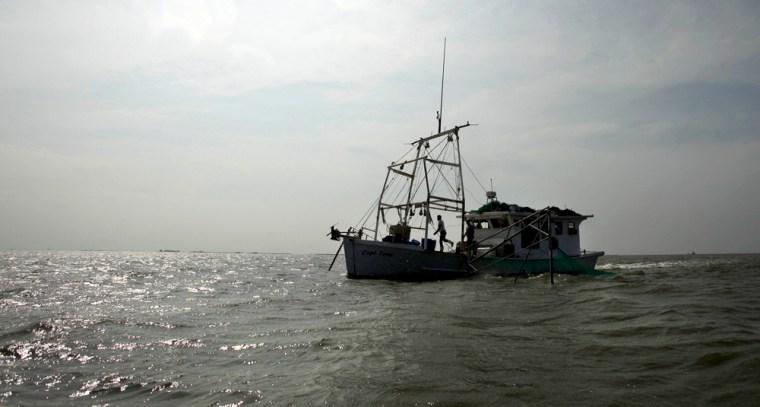 Image: shrimp boat