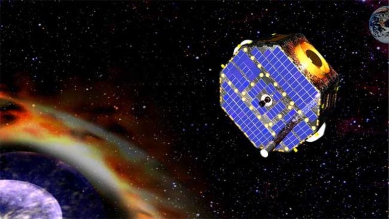 Image: Artist's impression of NASA's IBEX spacecraft