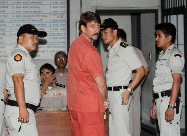 Image: Alleged Russian arms dealer Viktor Bout