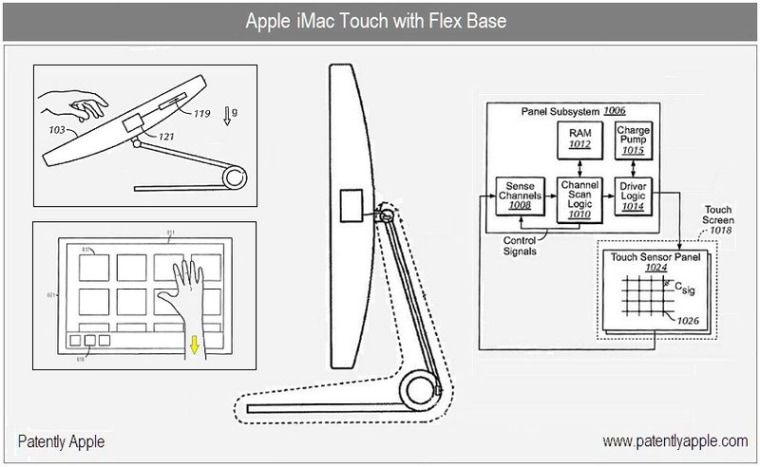 Image: Apple patent drawing