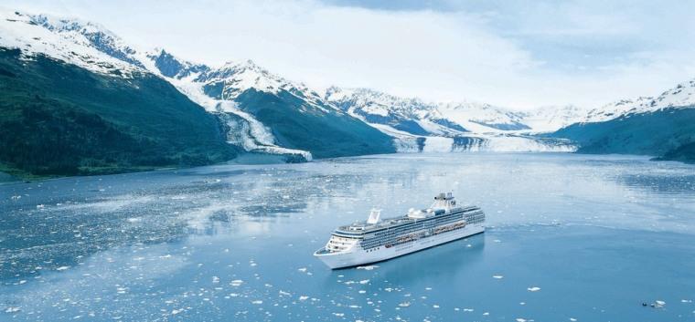 Image: Coral Princess in Alaska