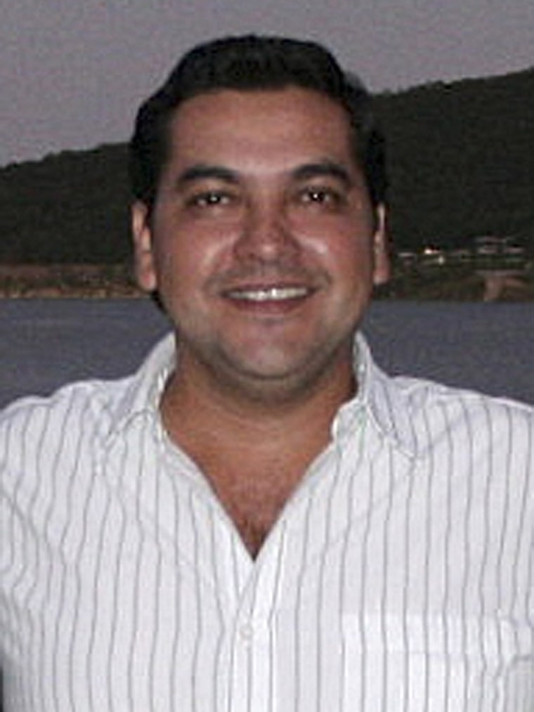 Image: File photo of mayor Marco Antonio Leal from the opposition Institutional Revolutionary party (PRI) in Hidalgo