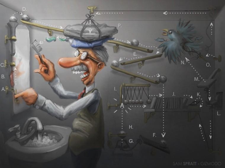 Image: Rube Goldberg: The man behind the machines