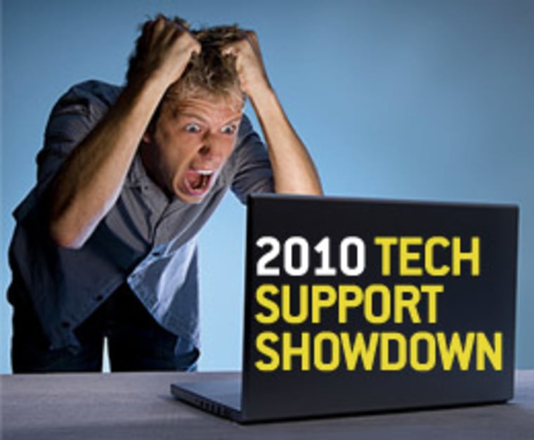 Image: man staring at laptop, pulling hair out