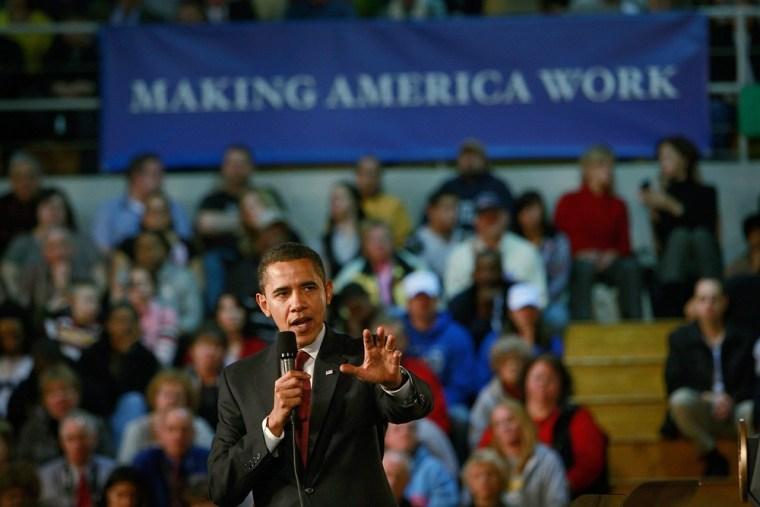 Image: President Obama in Elkhart, Ind.