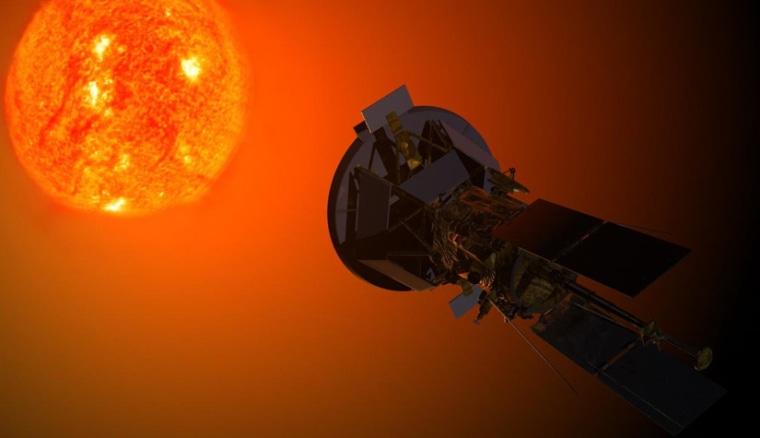 Image: NASA rendering of Solar Probe Plus