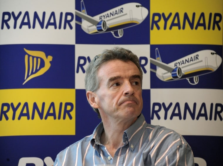 Image:  Ryanair CEO Michael O'Leary