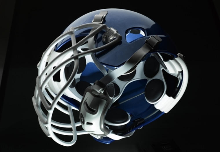 New helmets, such as the X-1 from Xenith, could better protect NFL players from concussions courtesy of revolutionary adaptive air cell shock absorbers instead of foam pad linings.