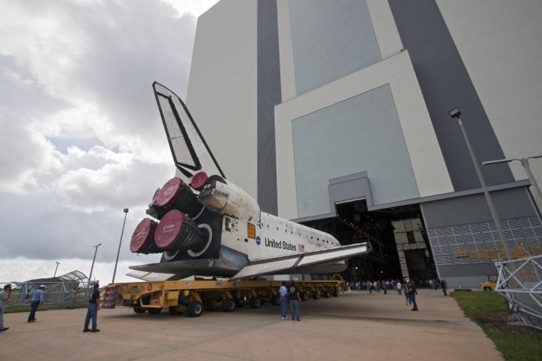 Image: Shuttle rollover