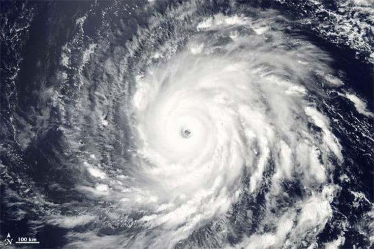 Image: Hurricane Igor from NASA's Aqua satellite