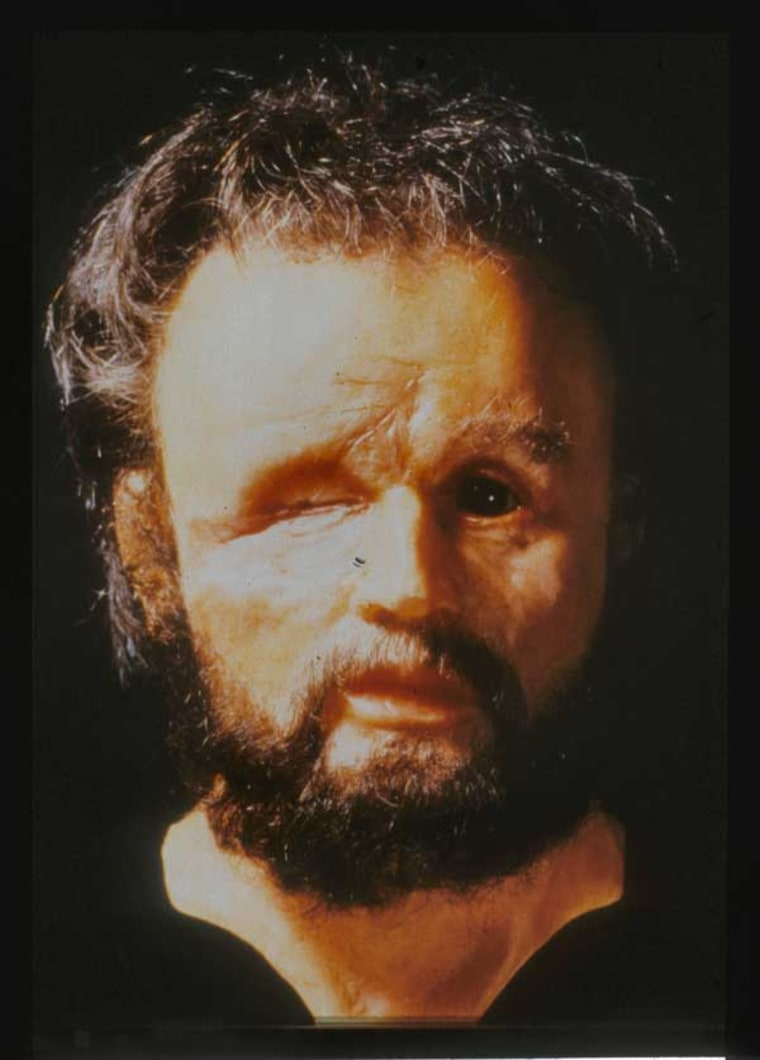 Image: Facial reconstruction of Philip II