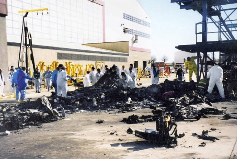 On January 8, 2003, negligent repairs to the tail section of the plane caused the pilot flying Air Midwest Flight 5481 to lose control and careen into a hanger at the Charlotte-Douglas International Airport, killing 21 people. Air Midwest had outsourced the plane's maintenance checks to a West Virginia company, which in turn outsourced them to another company.