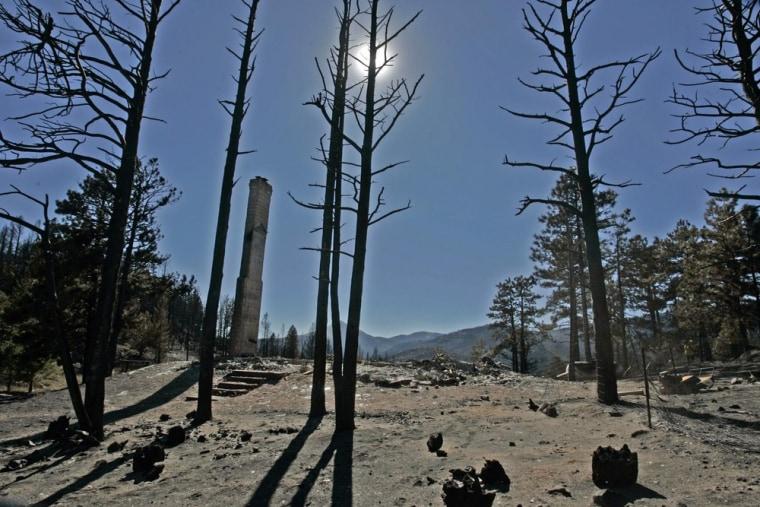 Image: Fourmile Canyon fire aftermath
