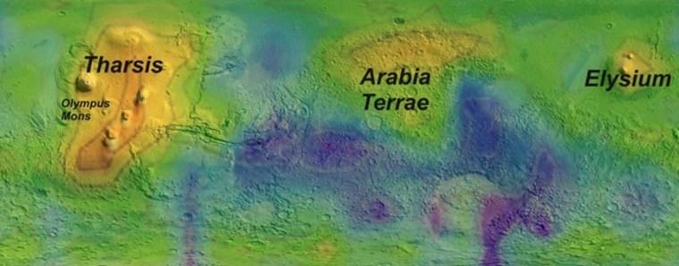 Image: Map of methane