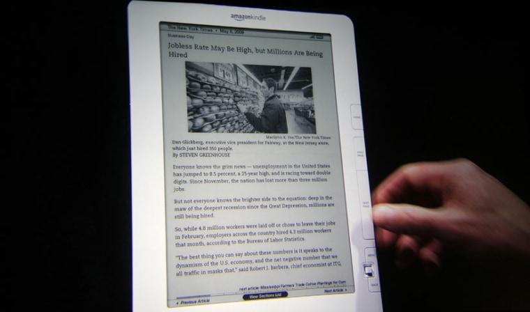 Image: Kindle e-reader
