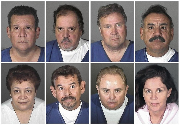 Image: Bell, California, scandal suspects