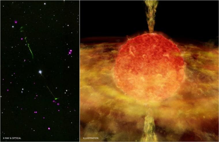 Image: Data from NASA's Chandra X-ray Observatory