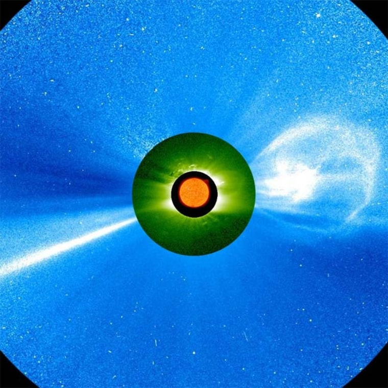 Image: Solar storms