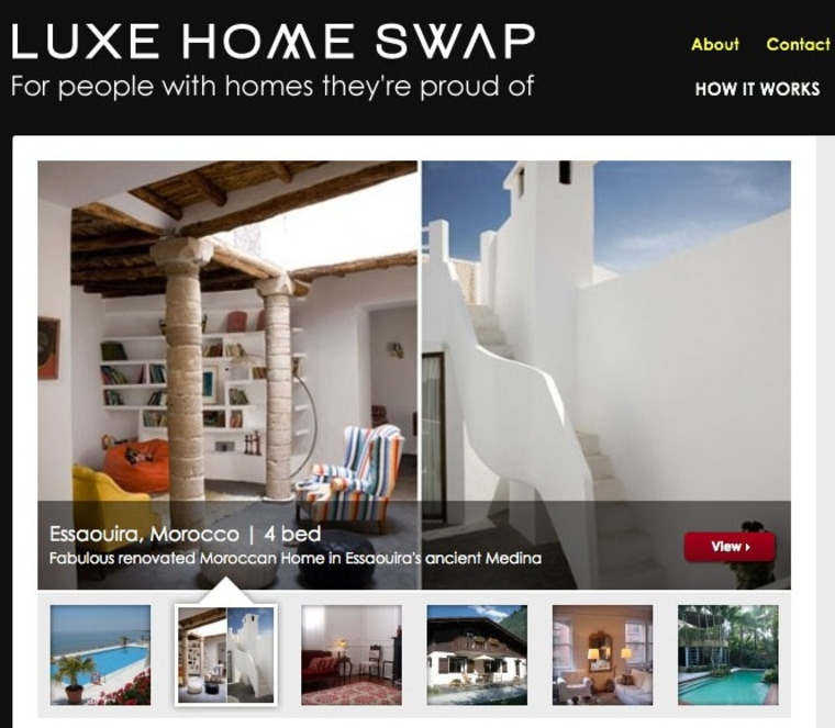 Image: Luxe Home Swap