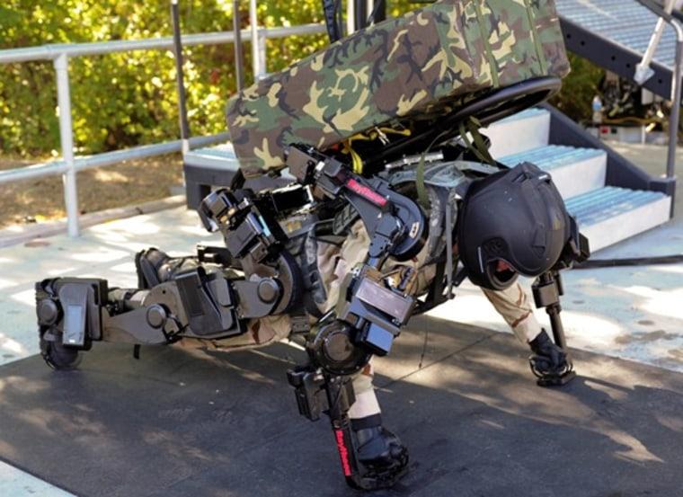 Image: 2nd Generation Exoskeleton Robotic Suit Gallery