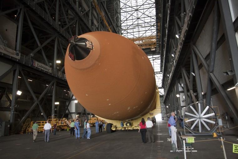 Image: ET-122 in VAB
