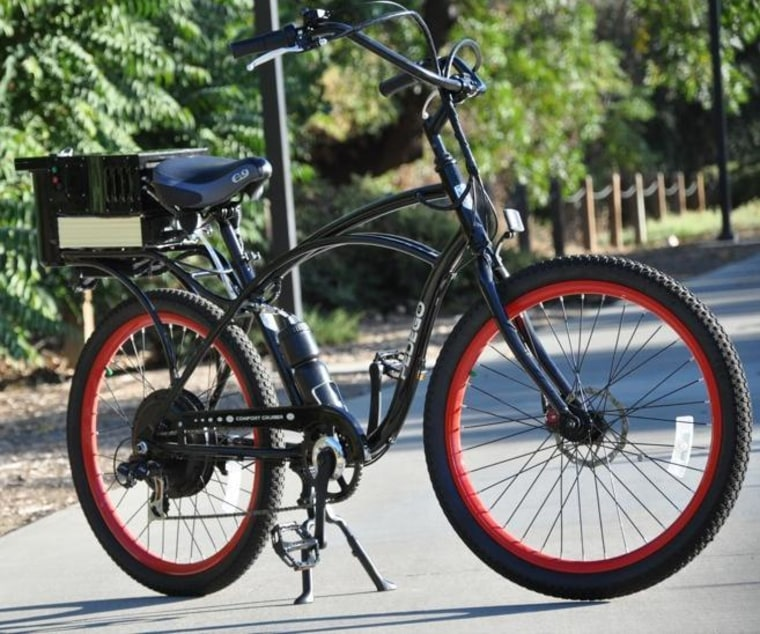Image: Fuel cell tech on electric bicycle
