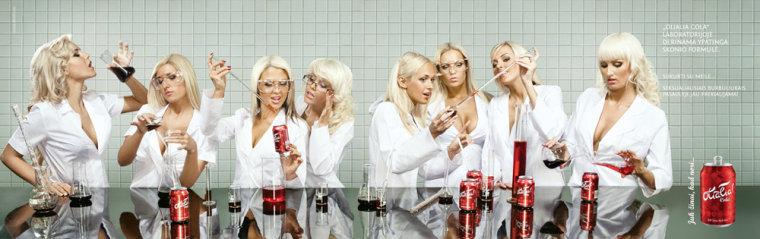 Image: Olialia Cola ad campaign