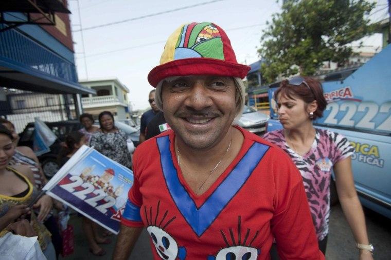 Image: Brazilian clown Tiririca