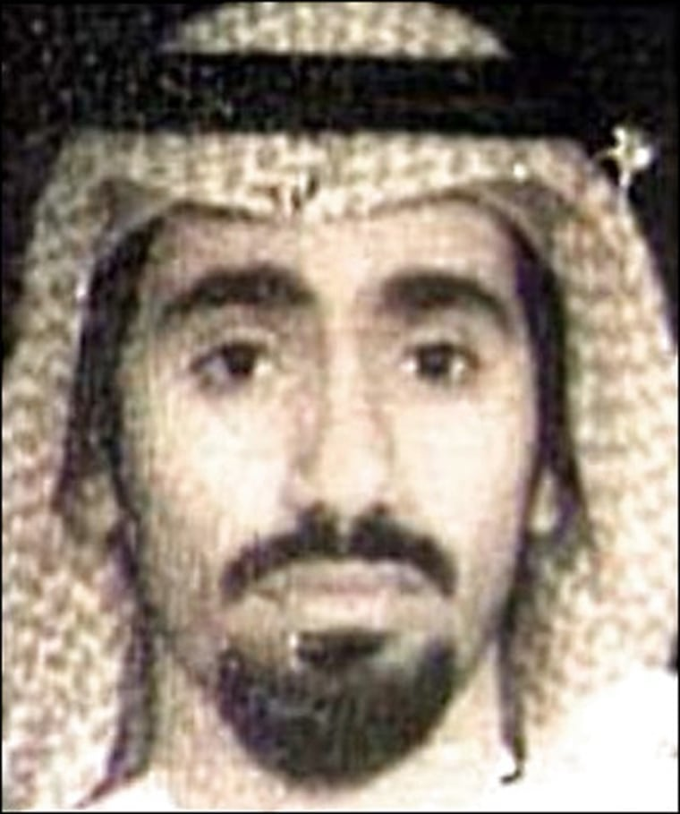 Image: File photo of Abd al-Rahim al-Nashiri, a suspect in the USS Cole bombing who is being held at Guantanamo naval base