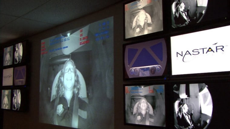 Image: NASTAR viewing room