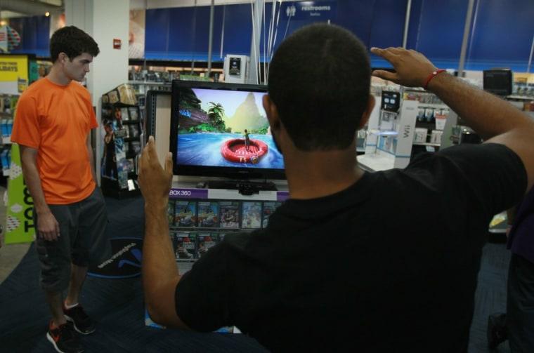 Image: Microsoft Xbox Kinect goes on sale
