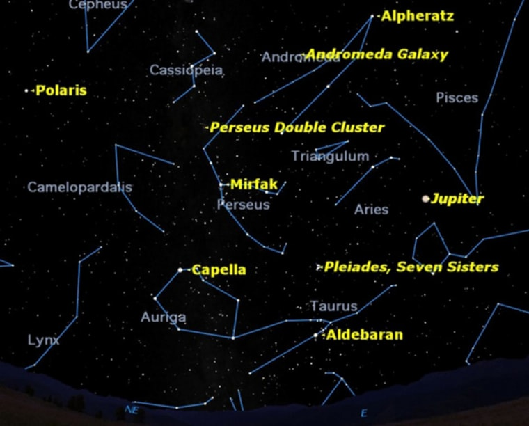 Looking eastward on a nice October evening, you can spot a variety of deep sky treats.
