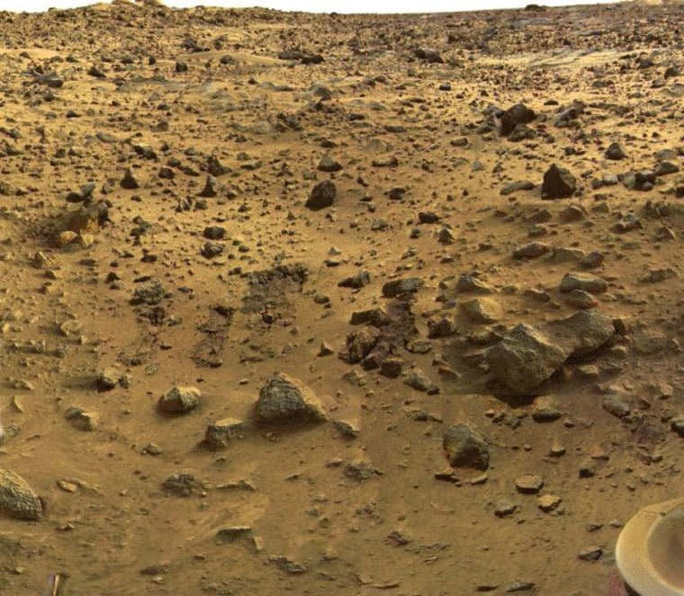 Image: Martian surface