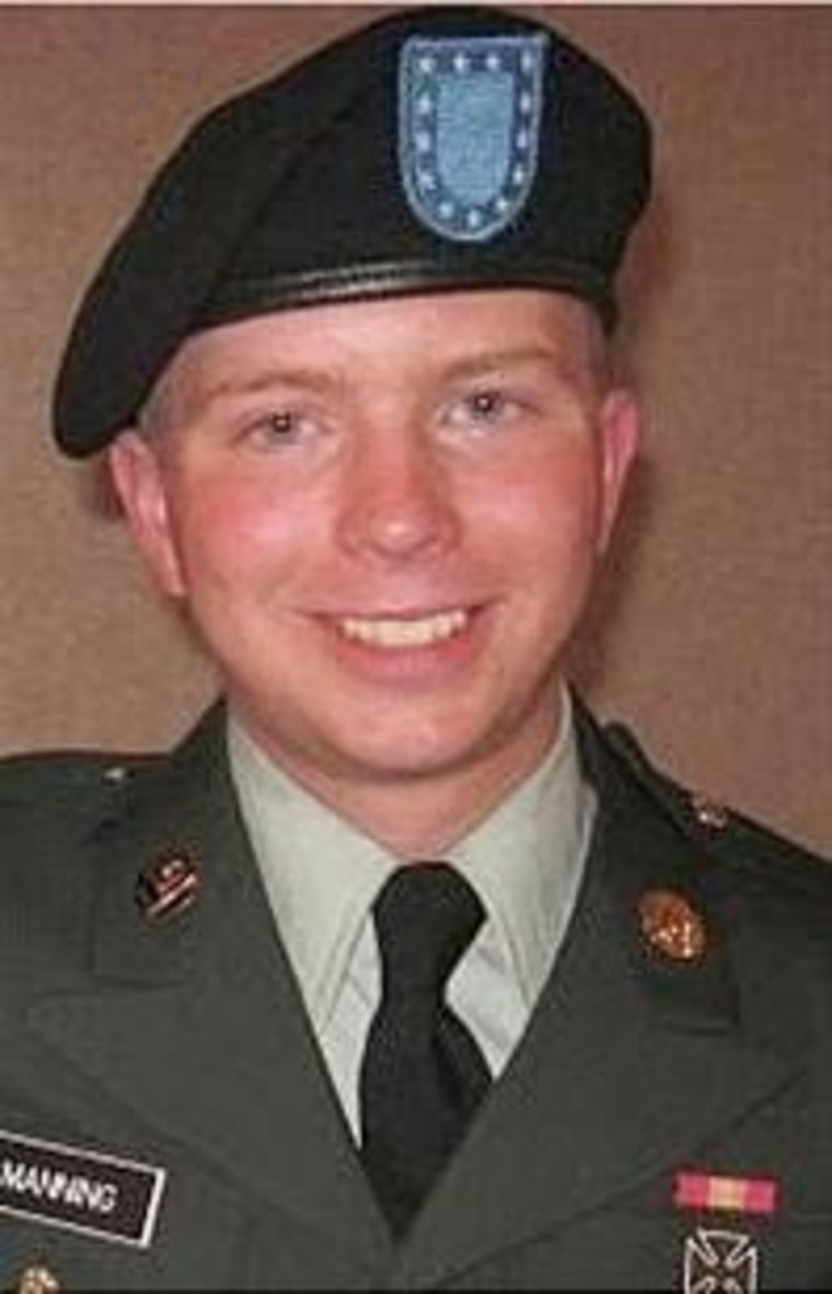 Image: Army Specialist Bradley Manning