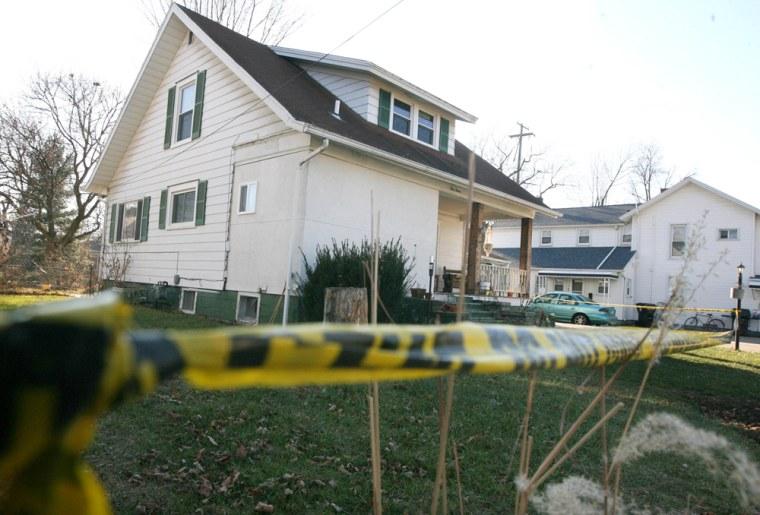Image: John Skelton's home in Morenci, Michigan