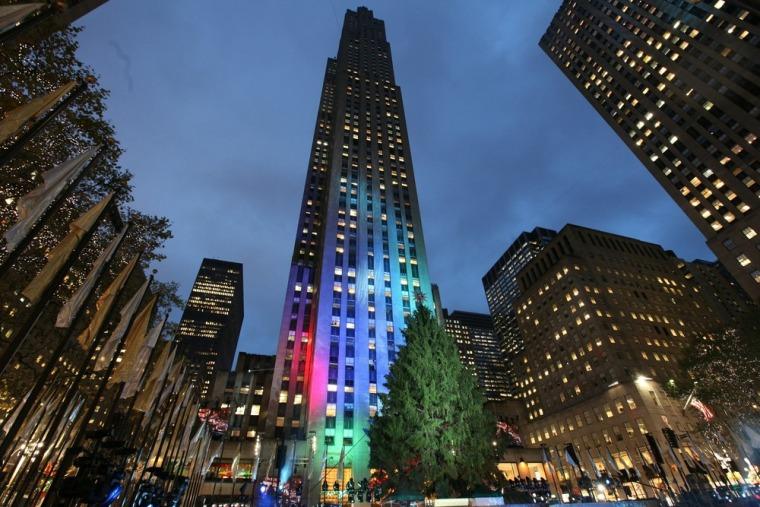 Image: Rockefeller Center Christmas Tree Lighting