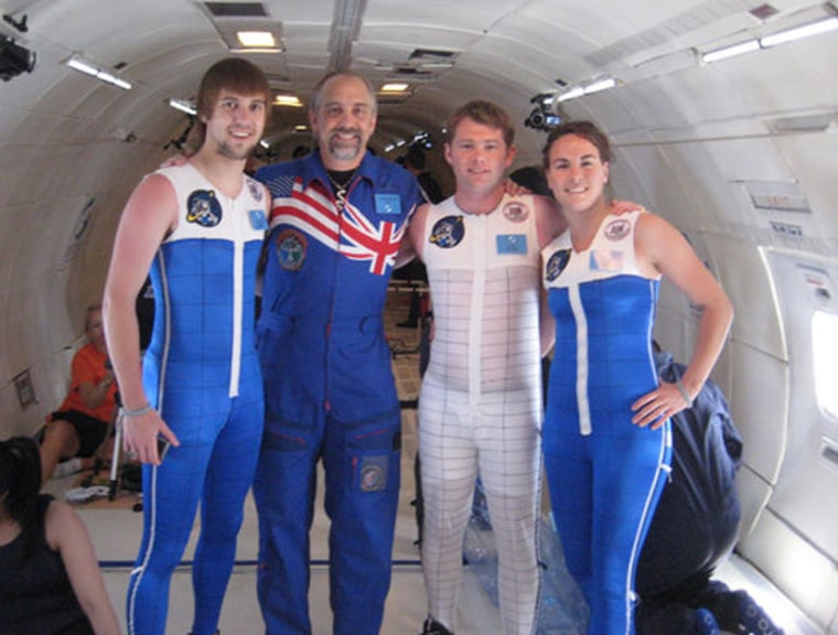 Image: Skin-tight space suits